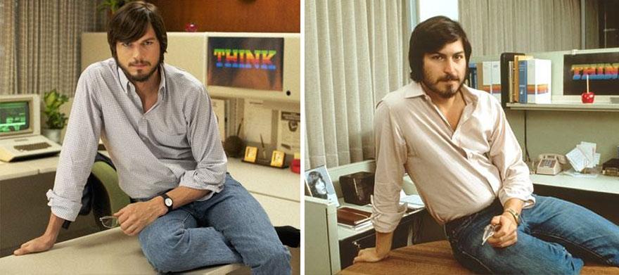 Ashton Kutcher ako Steve Jobs