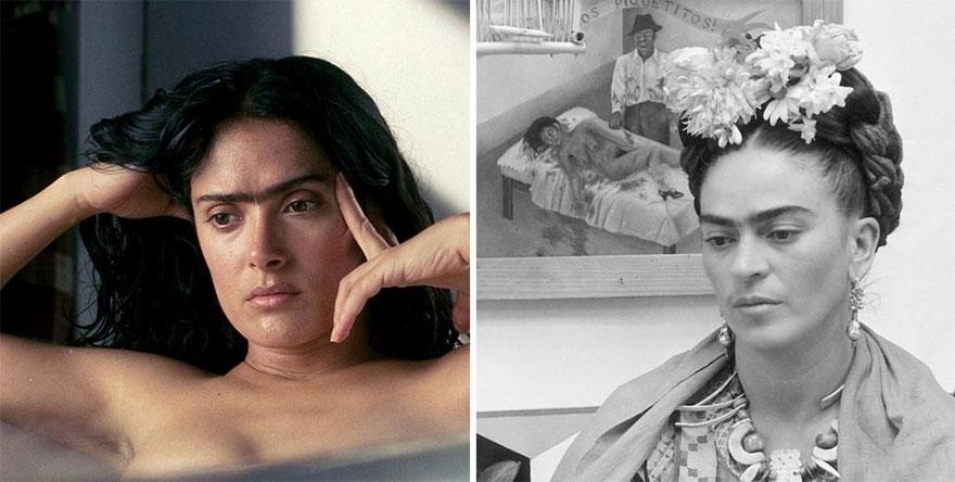 Salma Hayek ako Frida Kahlo