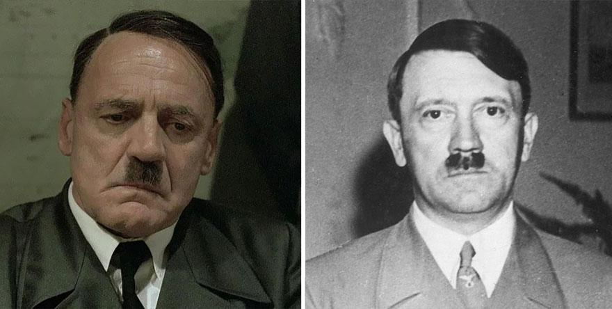 Bruno Ganz ako Adolf Hitler
