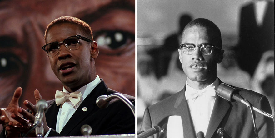 Danzel Washington ako Malcolm X