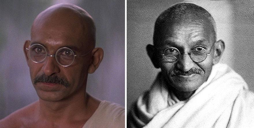 Ben Kingsley ako Mohandas Gandhi