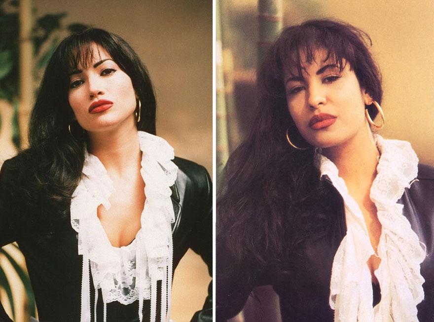Jennifer Lopez ako Selena Quintanilla