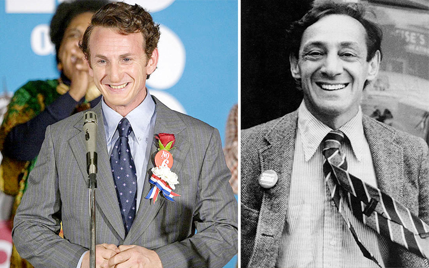 Sean Penn ako Harvey Milk