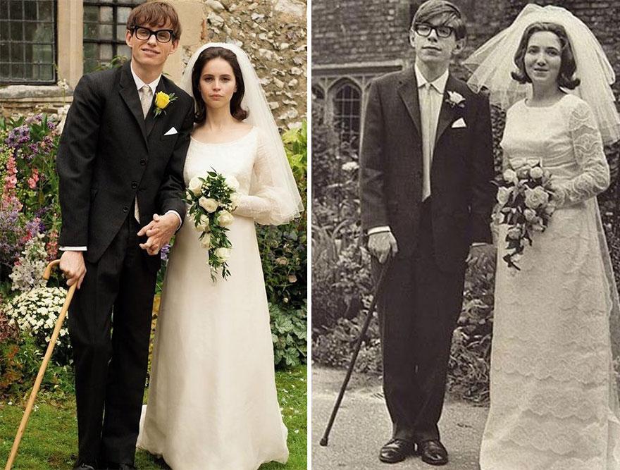Eddie Redmayne ako Stephen Hawking