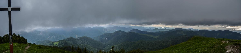 Výhľad z Rakytova, Veľká Fatra.