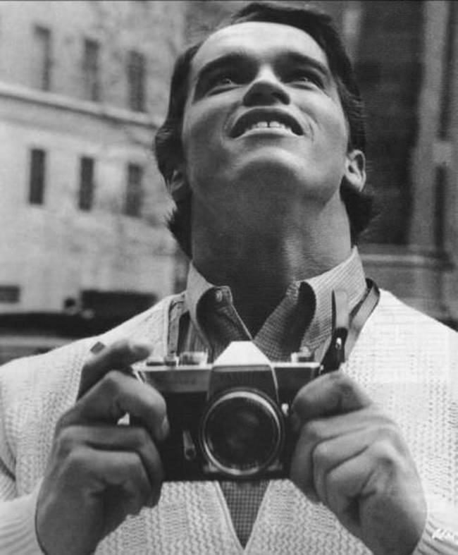 Arnold Schwarzenegger po prvýkrát v New Yorku v roku 1968.