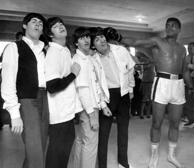 The Beatles a Ali. 1964.