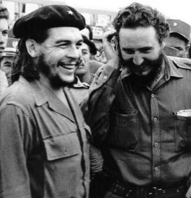 Che Guevara a Fidel Castro.
