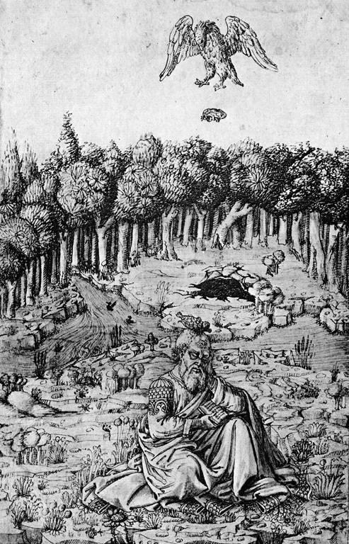 455 p.n.l.: Aténsky autor Aischylos bol zabitý, keď mu orol hodil na hlavu korytnačku.