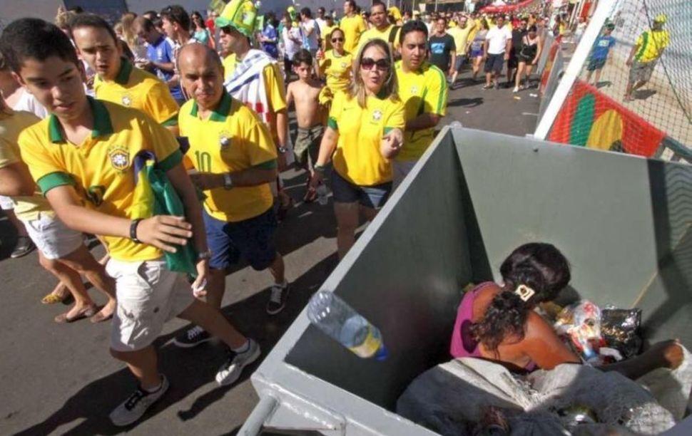 V Brazílii sa konali Majstrovstvá sveta vo futbale aj napriek demonštráciám mnohých krajín. Ľudia tam žijú v chudobe a kvôli výstavbe štadiónov bolo vysťahovaných takmer 25 - tisíc ľudí. Jún.