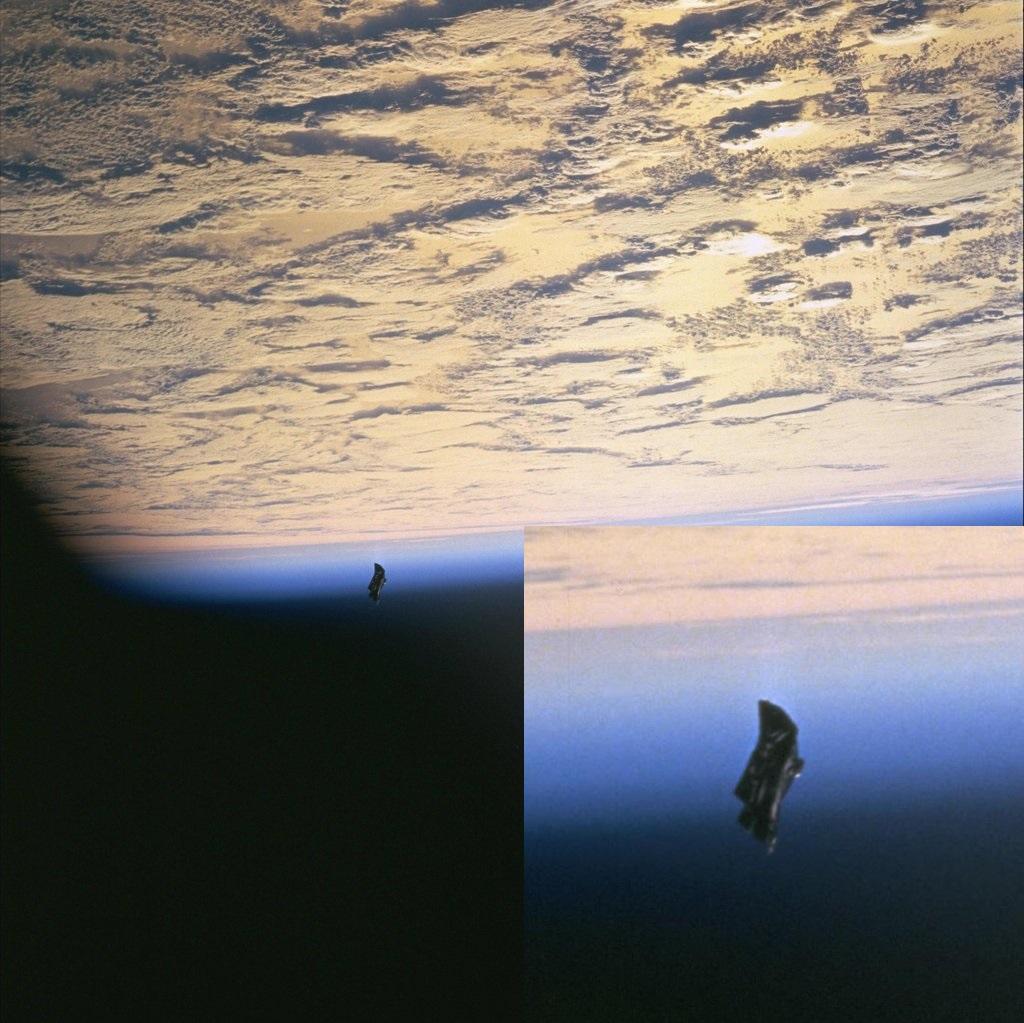 Hovorí sa, že okolo Zeme obieha objekt starý 13 - tisíc rokov. Hovorí sa mu Čierny rytier a ževraj ho NASA skúma. Kto vie...