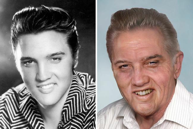 Elvis Presley mal 42 rokov, keď zomrel. (1977)