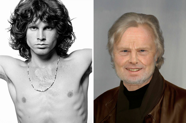 Jim Morrison z The Doors, ďalší člen klubu 27. Zomrel v roku 1971.
