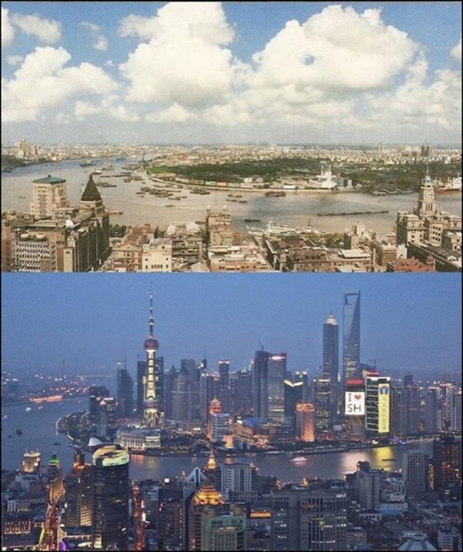 Mesto Šanghai.