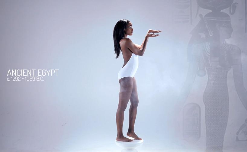 Ženy v starovekom Egypte boli opisované ako štíhle s vysokým pásom a štíhlymi ramenami.