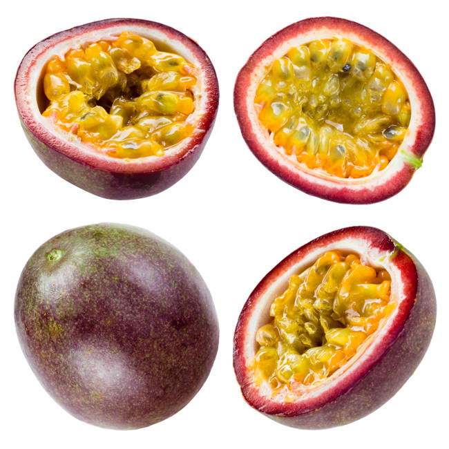 Vášnivé ovocie.