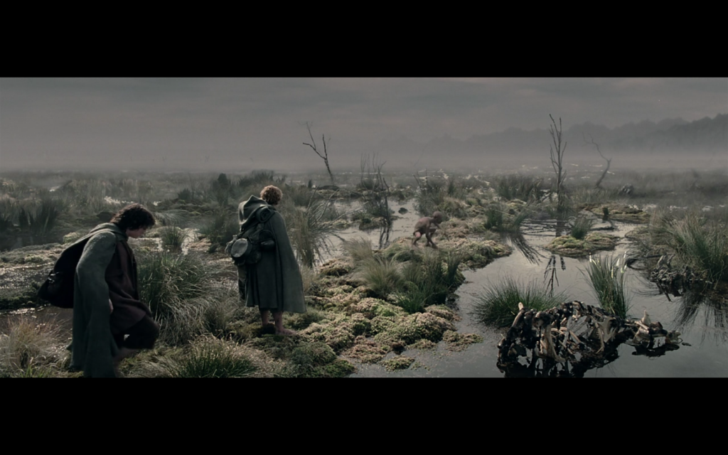 Tolkienov opis mŕtvych močiarov, podľa jeho dcéry, bol opis jeho zážitku z konca prvej svetovej vojny.