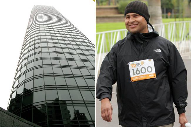 Umývač okien Alciedes Moreno spadol v roku 2007 zo 47 poschodia. Bol to vyše 152 metrový pád. Jeho brat tento pád neprežil on však hej aj keď s vážnymi zraneniami. Mal krvné zrazeniny v mozgu a úplne zničené pľúca následkom pádu. Len tak pre porovnanie, pád zo štvrtého poschodia neprežije polovica ľudí. On však prežil a minulý rok dokonca prešiel skoro 5 kilometrov pre charitu.
