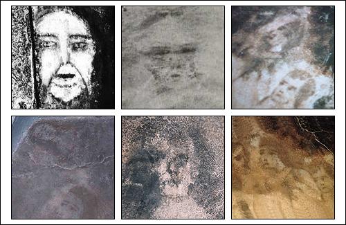 """Zistilo sa, že pod domom v 17. storočí ležal kresťanský cintorín a predtým toto miesto patrilo moslimskému pohrebisku. Starosta dal rodine vystavať čisto novú podlahu no potom sa začali diať ešte väčšie veci. Na čisto novej podlahe sa začali objavovať ďalšie mužské a ženské tváre. V roku 1972 začali tento prípad skúmať špecialisti z odboru parapsychológie a zistili, že tváre menia svoje nálady, niektoré sa strácajú a objavujú sa namiesto nich úplne nové. Na mieste sa snažili nahrať aj tajomné zvuky vysoko-citlivými mikrofónmi a to čo nahrali, zaskočilo úplne každého: """"Zabiť ho""""""""Všetci zomreli"""", """"Všetci sú tu"""", """"Chcem ísť von"""", """"Tu začína peklo"""". Z domu sa stala atrakcia a manžel Márie, Juan, čoskoro zomrel. Zomieral zo slovami, že už vidí tváre, ako ho vítajú. Na podlahe sa potom že vraj objavila aj tá jeho."""