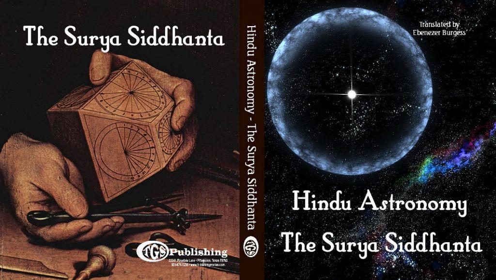 """Antická kniha Surya Siddhanta sa zmieňuje o výskumníkoch a filozofoch, ktorí obiehali Zem """"pod mesiacom a nad mrakmi""""."""