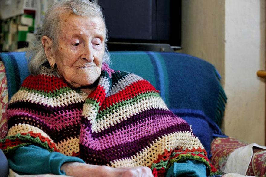 Emma Morano z Talianska ma 115 rokov. Narodila sa 29. novembra 1899.