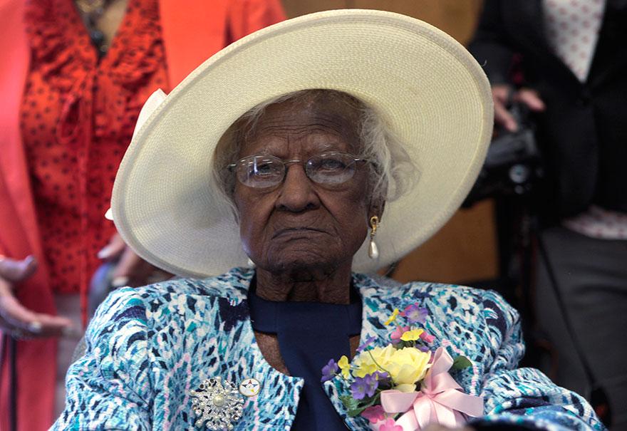 Jeralean Talley sa narodila 23. mája 1899 a momentálne má 115 rokov.