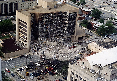 Bombovanie Oklahomy