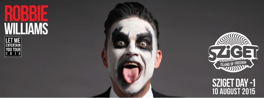 Robbie Williams_event cover