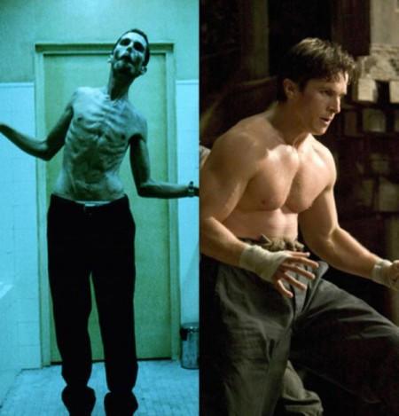 Christian Bale držal diétu aby vyzerala jeho postava dvôverihodne vo filme Mechanik. Krátko na to však ale pribral a vypracoval sa, aby zahral Bruca Wayna vo filme Batman začína.