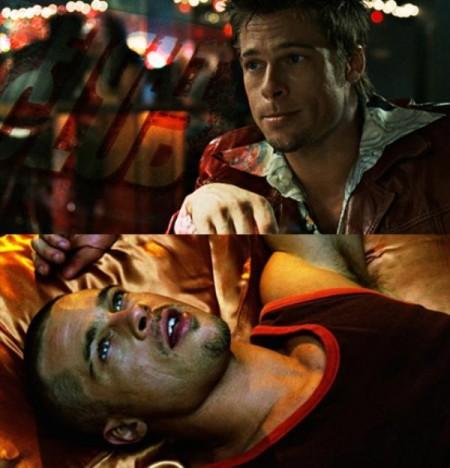 Aby mohol Brat Pitt dôverihodnejšie zahrať postavu Tylra Durdena vo filme Klub Bitkárov, nechal si vyraziť dva zuby.