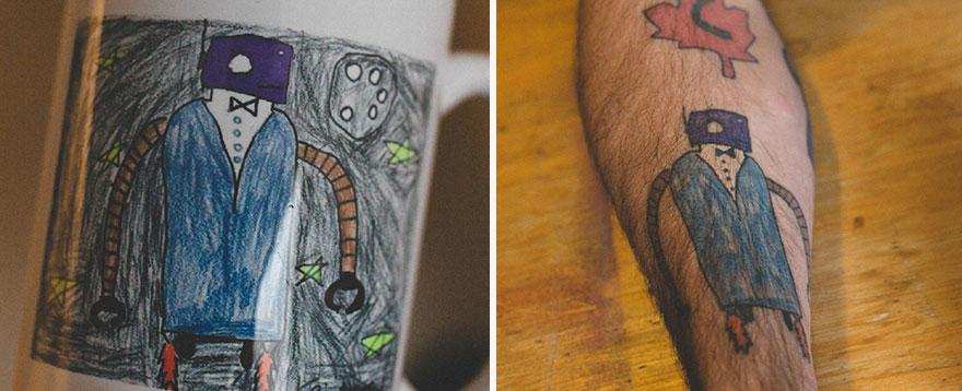 Tohto robota nakreslil keď mal 10.
