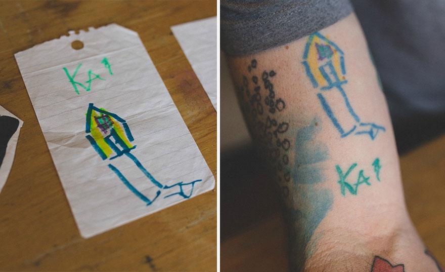 Tento dom nakreslil keď mal 4.