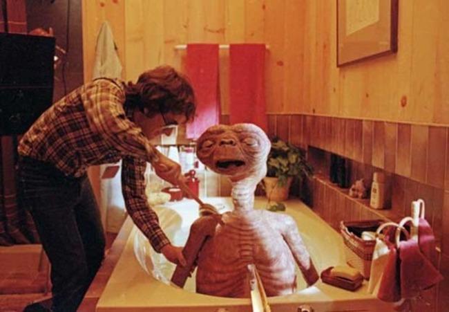 E.T. mimozemšťan.