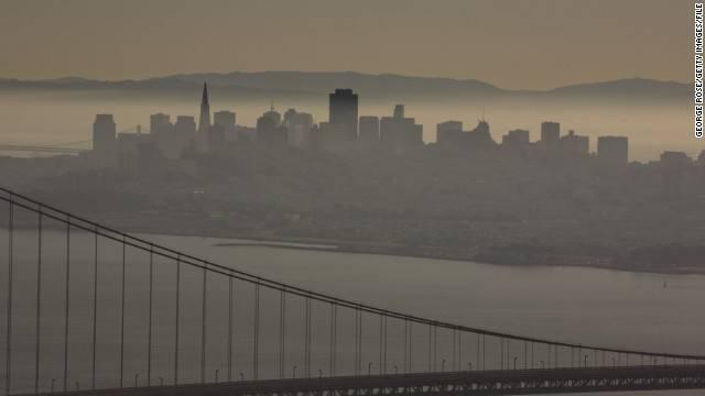 Takmer tretina znečistenia vzduchu v San Franciscu pochádza z Číny.