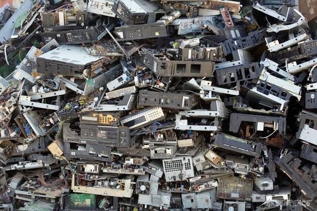 Len v roku 2012 sa vytvorilo 49 miliónov ton odpadu s elektrických spotrebičov.