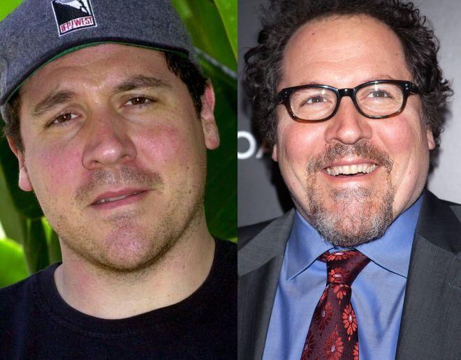Jon Favreau, bývali priateľ Moniky.