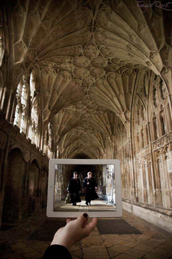 Harry Potter, Katedrála Gloucester, UK