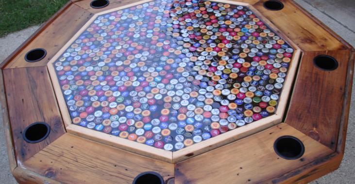 Aj stôl sa dá zaujímavo oživiť...