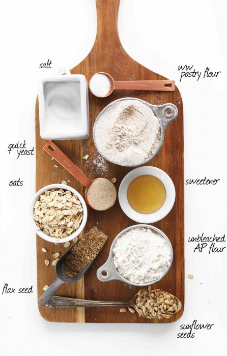 One ingredient to make bread