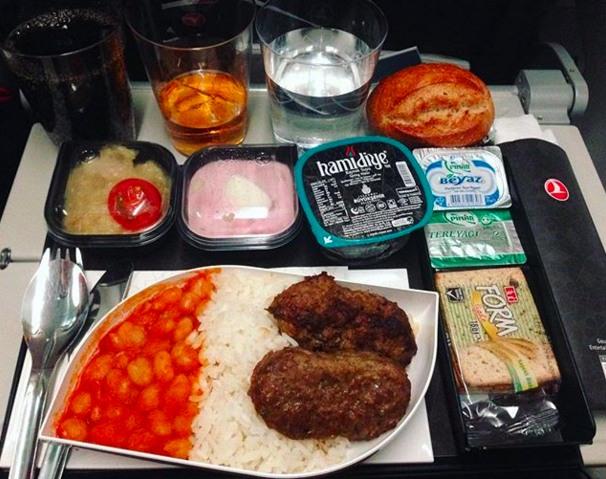 jedlo v lietadle 2