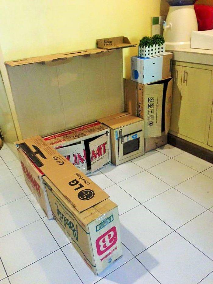 kuchynka-z-kartonu