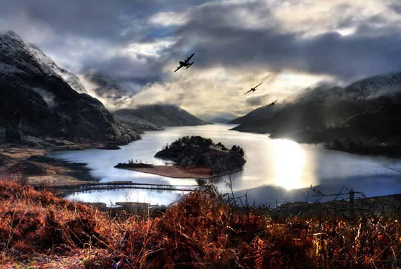 skotsko - loch shiel