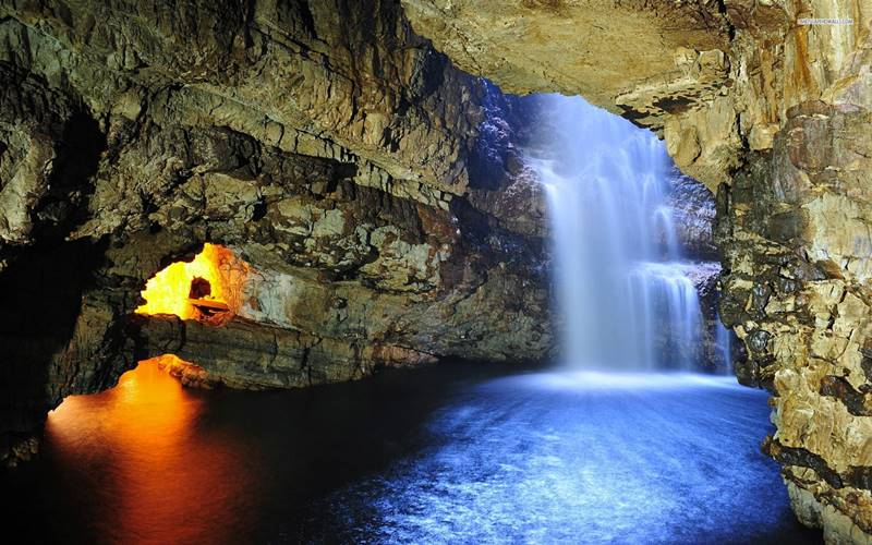 skotsko - smoo cave
