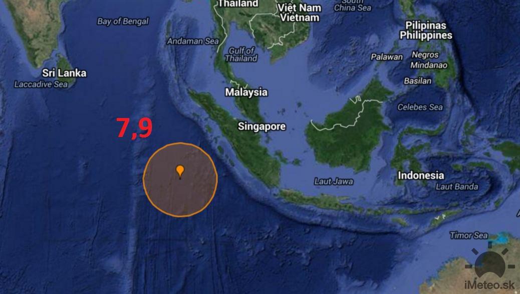 Earthquake Track