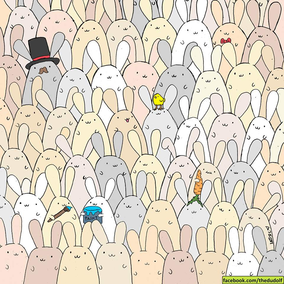 Internet sa ide znovu zblázniť – skoro nikto nedokáže nájsť Veľkonočné vajce do 30 sekúnd