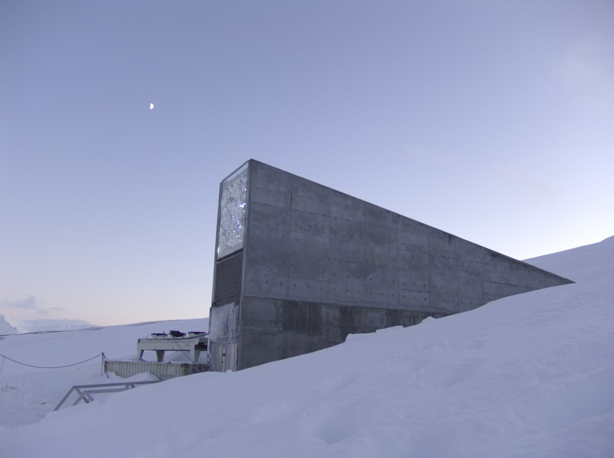Mari Tefre/Svalbard Globale frøhvelv/Flickr